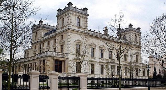 18-19 Kensington Palace Gardens, Londres, Grande-Bretagne
