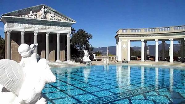 Hearst Castle San Simeon, Californie, Etats-Unis