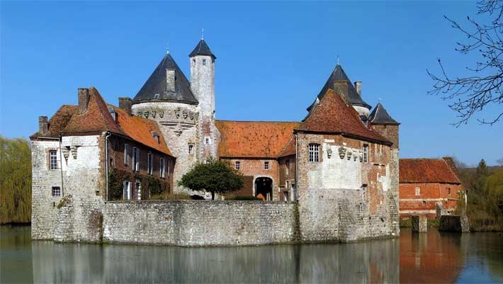 Château d'Ohlain, édifice du patrimoine francais