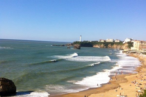 Plage de la Côte des Basques - Biarritz