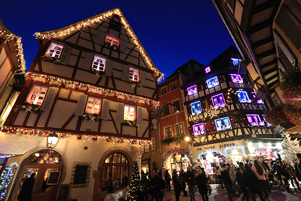Colmar, un marché de Noël féerique