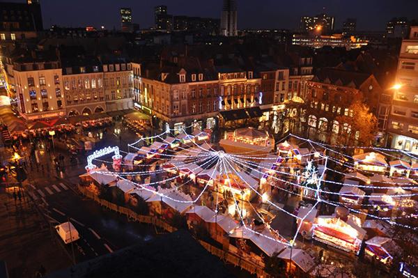 Lille, un marché de Noël à visiter en famille