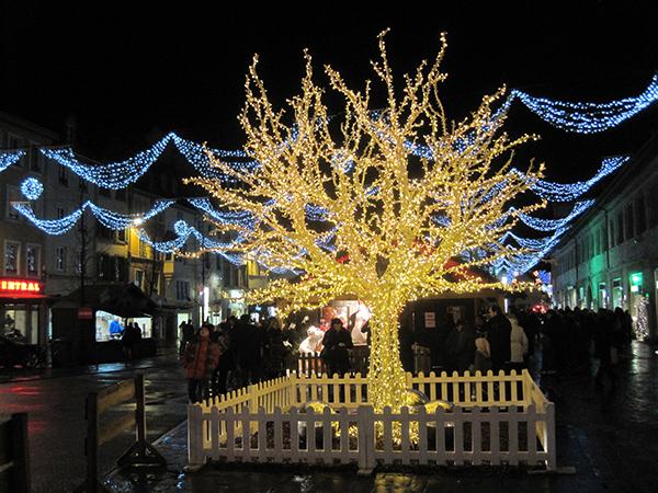 Montbéliard, les Lumières de Noël