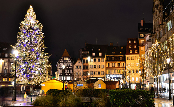 Strasbourg, le plus beau marché de Noël Français