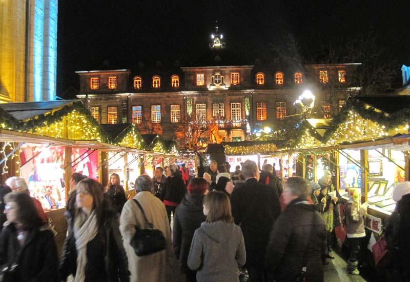 Le marché de Noël de Montbéliard