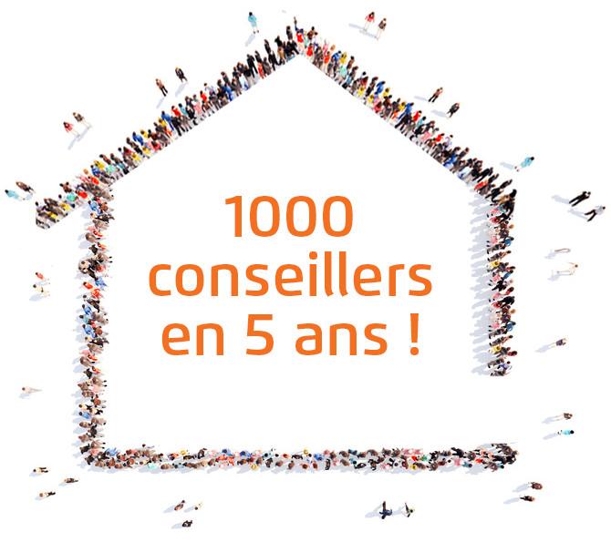 SAFTI fête ses 1000 conseillers indépendants en immobilier
