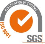 SAFTI certifié ISO 9001
