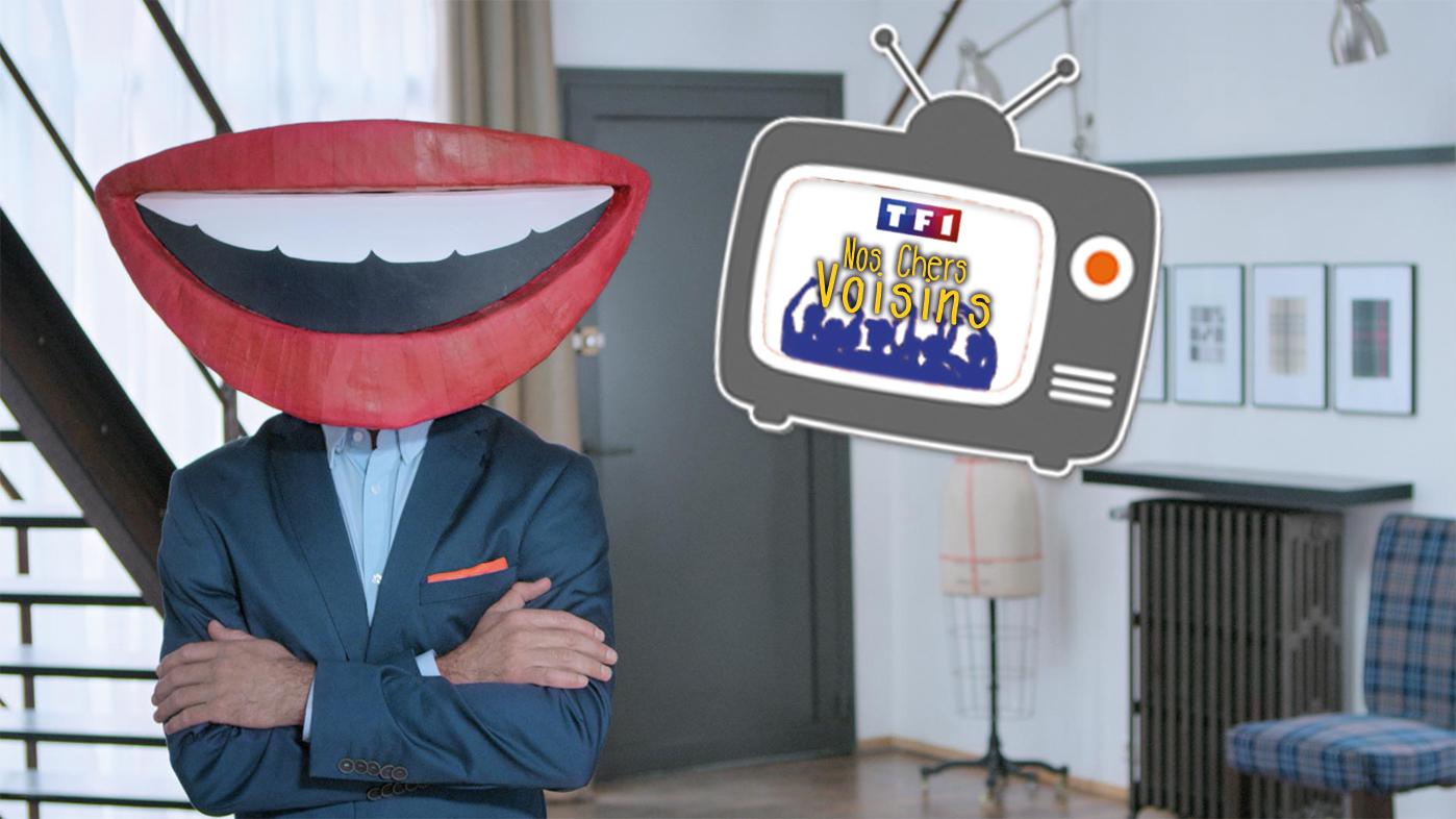 SAFTI présent sur TF1 en parrainant Nos chers voisins