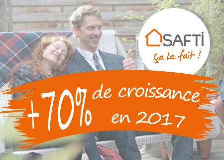 70% de croissance en 2017 pour SAFTI