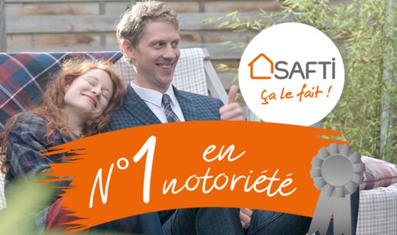 SAFTI, réseau immobilier N°1 en notoriété